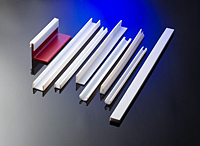 GUIDE RAILS, RECTANGULAR BARS AND WEAR STRIPS TEFLON ® AND